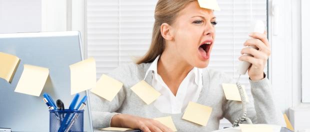 Le stress au travail peut provoquer des troubles psychiatriques
