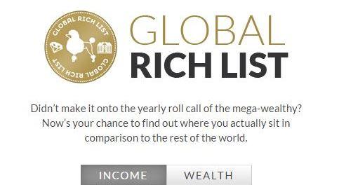 Comment savoir si on est riche?