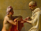 Socrate & Alcibiade, de Christoffer Wilhelm Eckersberg